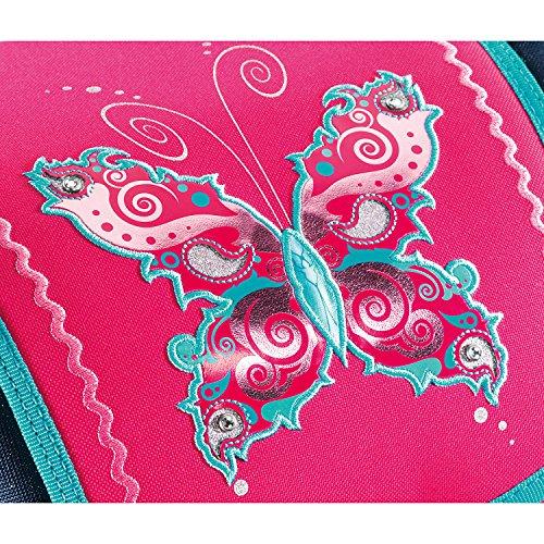 Step by Step Flexline Schulranzen-Set 5-tlg Butterfly Dancer butterfly - 2