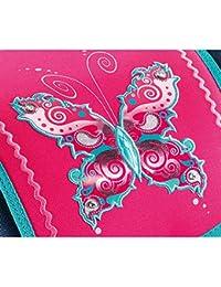 Step by Step Light Ensemble cartable 4pièces, Motifs papillons