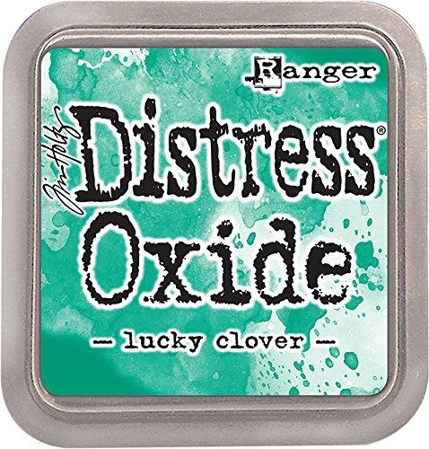 Ranger Lucky Clover Not-Oxid Tinte Pad, synthetischen Material, grün, 7,5x 7,5x 1,9cm -