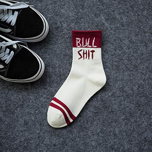 Shuxinmd Bequeme und weiche Sportsocken Lustige athletische Persönlichkeits-Coole Paar-Socken Für Jungen Mädchen (Size : #2) (Athletische Socken Jungen)