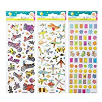 Craft Planet Stickers, Multi-Colour, One Size