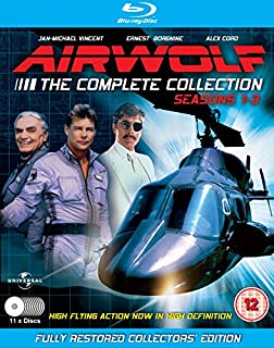 Airwolf - The Complete Collection: Seasons 1-3 - 11 Disc Set [Blu-ray] (B00IGRO3NY) | Amazon price tracker / tracking, Amazon price history charts, Amazon price watches, Amazon price drop alerts