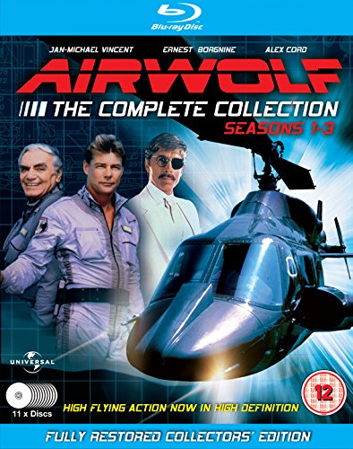 Airwolf - The Complete Collection: Seasons 1-3 - 11 Disc Set [Blu-ray] and [DVD]