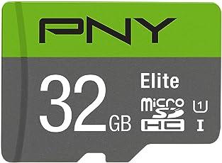 PNY PFUD0321U1R100-BR20 32GB Micro SD Card (Green)