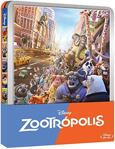Zootrópolis – Edición Metálica [Blu-ray] 6192aJM2LZL
