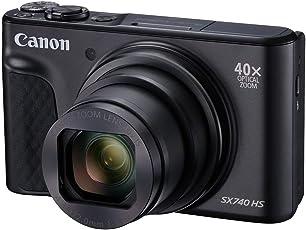 Canon Powershot SX740 HS Reise-Kit Schwarz