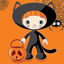 Dress up Halloweenpour les enfants - amusant et éducatif Jigsaw Puzzle Jeu d'apprentissage pour les enfants d'âge préscolaire ou tout-petits de la maternelle, garçons et filles tous âges