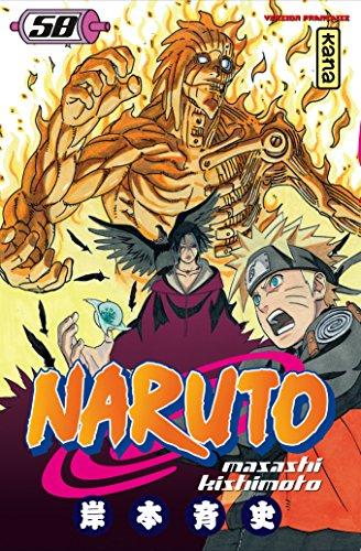 Naruto Vol.58 par KISHIMOTO Masashi