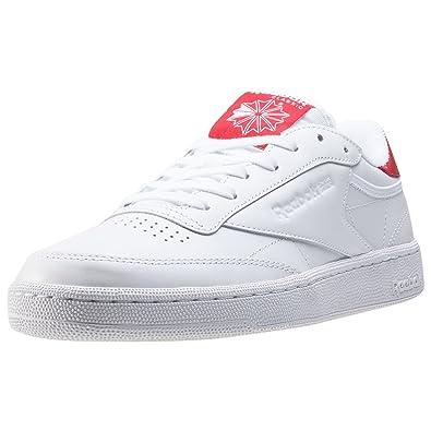 Reebok Wmn Club C 85 EL White Red: : Schuhe