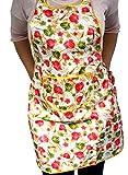 saisonware.de Schürze aus Gummi, abwaschbar, Gartenschürze, Kochschürze, Arbeitsschürze, Einheitsgröße, SW628,