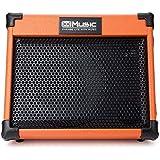 Coolmusic AC20 20W Bluetooth Amplificador de guitarra acústica, dos canales, con reverberación y coro