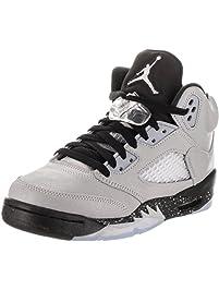 Nike Girls  Air Jordan 5 Retro Gg Basketball Shoes 25c1b6422