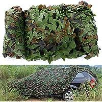 Plat Firm 4x1.5m Woodland Camuflaje Camo Net para Acampar Fotografãa Militar
