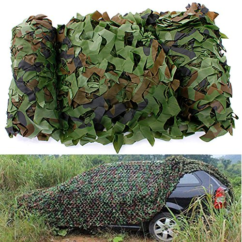 Preisvergleich Produktbild ILS - 4x1.5m Woodland Camouflage Camo Net For Camping Military Photography