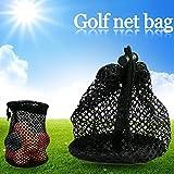 Sue Supply Ballsack Ballnetz Tennisbälle Tragetasche Tennisball Mesh Pack Golfbälle Tasche Ideal für Tennis Golf Sport Unterricht Praxis Training