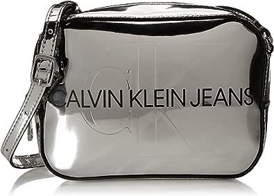 Calvin Klein CKJ Sculpted Camera Bag Silver