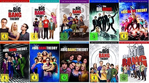 The Big Bang Theory Staffel 1-10 (1+2+3+4+5+6+7+8+9+10) [DVD - Big-bang-dvd-staffel 1
