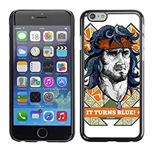 caseco rambo stallone apple iphone 6 pr mie slim d nn schutz h lle tasche slim case cover. Black Bedroom Furniture Sets. Home Design Ideas
