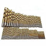 Brocas de titanio de la marca Bermud. Brocas en espiral de 1.5mma10mm (99unidades)