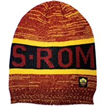 AS Roma 1927 Cappello Cuffia ZUCCOTTO Rasta Jaquard Uomo 16837-OR 6dd57210178c