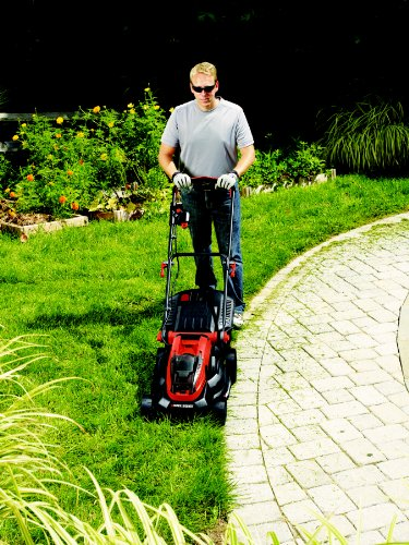 BLACK+DECKER 36 V Lithium-Ion Lawn Mower with 2 Ah 2 Batteries