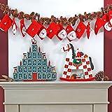 Image of pajoma XXL Adventskalender Nikolaus, 24 Beutel zum Befüllen, Weihnachten