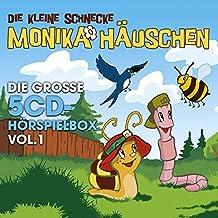 Die kleine Schnecke Monika Häuschen - Die große 5CD-Hörspielbox Vol.1