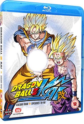 Dragon Ball Z Kai Season 4 (Episodes 78-98) Blu-Ray [Edizione: Regno Unito] [Edizione: Regno Unito]