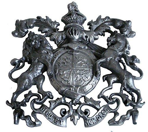 Brass Blessing Messing Segen–Groß antik Stil Heavy Cast Royal Crest Safe Teller–Best Collection (5126)