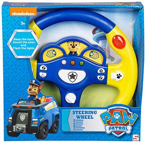 (Pfoten Patrole Jagd Jungen Lenkrad Beep das Horn Klang- die Sirene und Blinken der Lichter Kinder interaktiv Spielzeug)