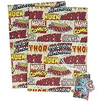 Marvel Comics Papel De Regalo