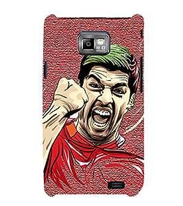 HiFi Designer Phone Back Case Cover Samsung Galaxy S2 I9100 :: Samsung I9100 Galaxy S Ii ( Football Art Ball Craze )