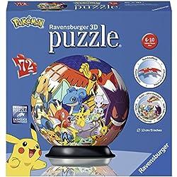 Ravensburger Puzzle 3D Pokemon 72 pièces, 11785