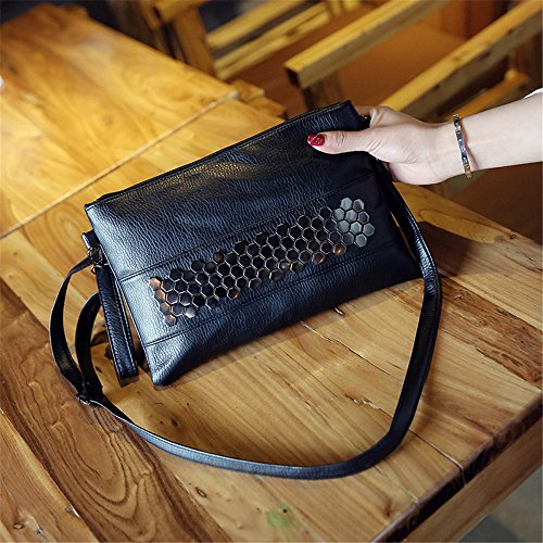 Meoaeo Unica Borsa A Tracolla Xiekua Pacchetto New Fashion Lady Tutti-Match Rivetto Bag Round Chiodo x?