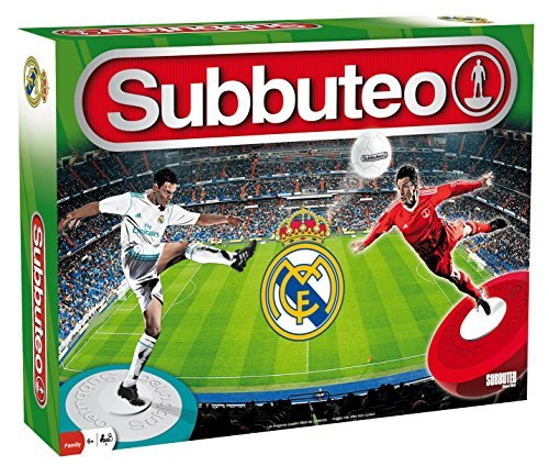Topejo Consulting Eleven Force S.L. sub63560-Subbuteo Play Set: Real Madrid