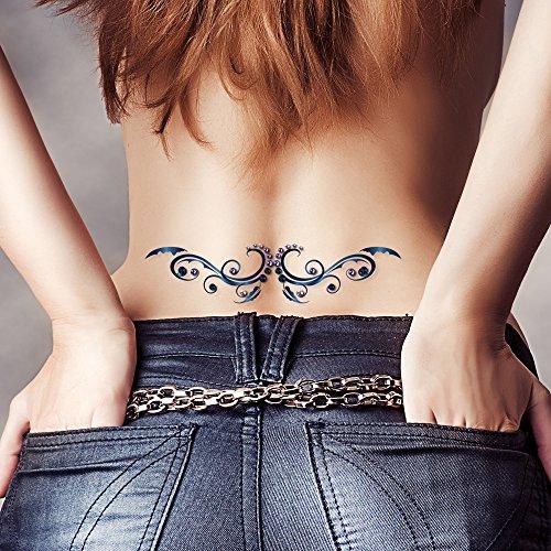 tatuaggio-temporaneo-tribal-angel-wings-swarovski-crystal-gem-new-body-art-party-uk