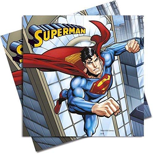 Partito Unico Superman pranzo tovagliolo (confezione da 20)