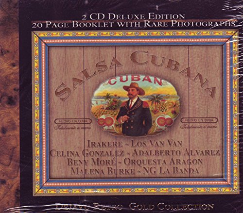 Salsa Cubana - Dejavu Retro Gold Collection - 2 CD Deluxe Edition 20 Page Booklet With Rare Photographs
