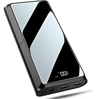 Bewahly Powerbank 20000mAh, USB C Caricabatterie Portatile 18W Power Delivery Batteria Esterna Caricatore Portatile con…