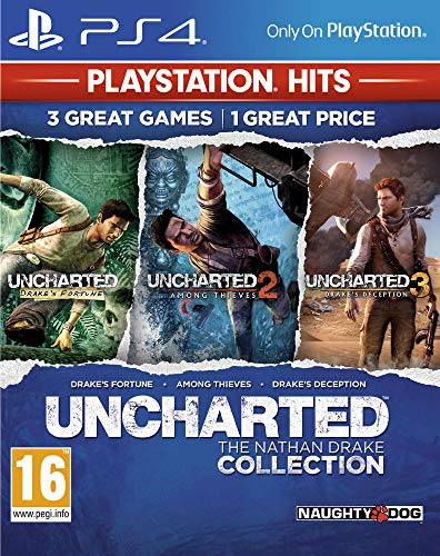 Uncharted : The Nathan Drake Collection HITS