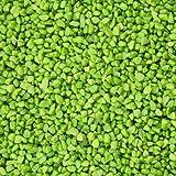 Dekogranulat / Dekosteine (2-3 mm), 1 kg, grün