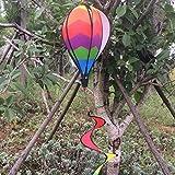 Gazechimp Nylon PVC Heißluftballon Windspiel Spirale Wind windsock Garten Hof Outdoor Ballon Deko Spielzeug - # E