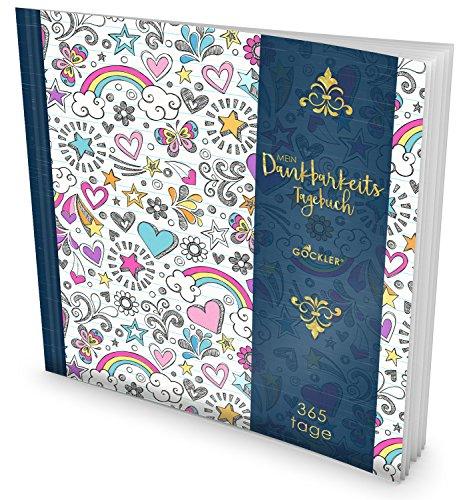 Tag-planer Für Kids (GOCKLER® Dankbarkeits-Tagebuch: 365 Tage Erfolgs-Journal für mehr Achtsamkeit, Bewusstsein & Glück im Leben +++ NEUE AUFLAGE mit glänzendem Softcover +++ DesignArt.: Girl Pattern)