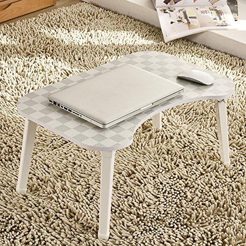 Mdf Moderner Schreibtisch (KTYXGKL Laptop-Schreibtisch moderner minimalistischer Klapptisch Lernender Kleiner Tisch 58X38X29 cm Klapptisch (Color : 2#))