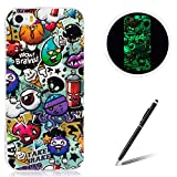 for Apple iPhone 5/5S/SE TPU Case Coque Housse Feeltech Luminous Noctilucent Green...