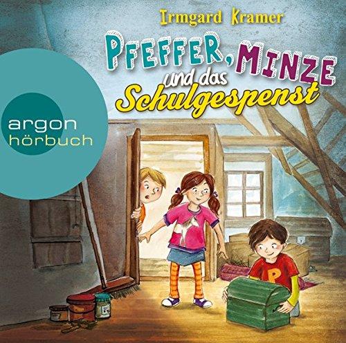 Buchseite und Rezensionen zu 'Pfeffer, Minze und das Schulgespenst' von Irmgard Kramer