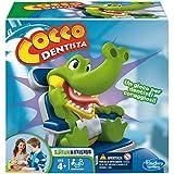 Hasbro - Cocodrilo sacamuelas, Juego de Habilidad (B04081750) (versión en Italiano)