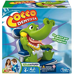 Hasbro Gaming - Cocco Dentista (Gioco in Scatola), B0408103, 4 anni + 1 spesavip
