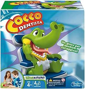 Hasbro Gaming - Cocco Dentista (Gioco in Scatola), B0408103, 4