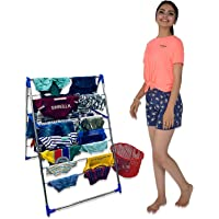 TNC;WORLD OF MODERN UTILITY PRODUCTS Triangular 2 Tray Foldable Butterfly Type Cloth Dryer / Drying Rack / Stand for…